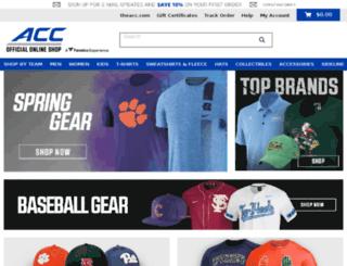 acc.teamfanshop.com screenshot