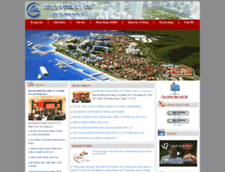 acc244.com.vn screenshot