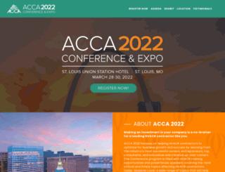 accaconference.com screenshot