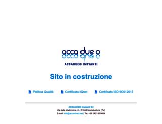 accadueo.net screenshot