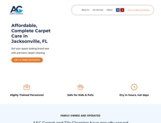 accarpetclean.com screenshot