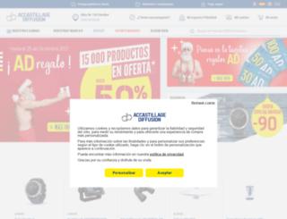 accastillage-diffusion.es screenshot