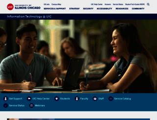 accc.uic.edu screenshot