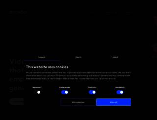 accedo.tv screenshot