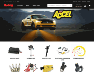 accel-ignition.com screenshot