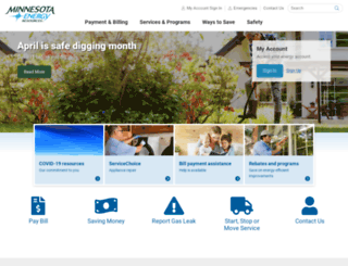 accel.minnesotaenergyresources.com screenshot