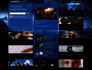 accelerated-ideas.com screenshot