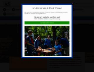 acceleratedschools.org screenshot
