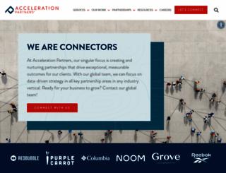 acceleration-partners.com screenshot