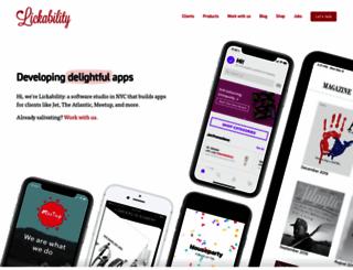 acceleratorapp.com screenshot