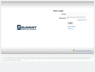 accellion.summit.com screenshot