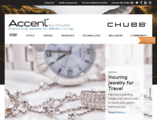 accent.chubb.com screenshot
