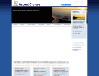 accentcruises.ca screenshot