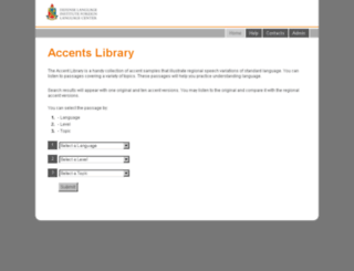 accents.lingnet.org screenshot