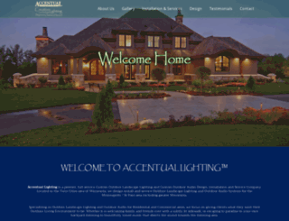 accentuallighting.com screenshot