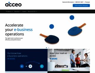 acceo.com screenshot