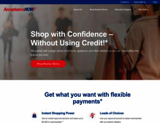 acceptancenow.com screenshot