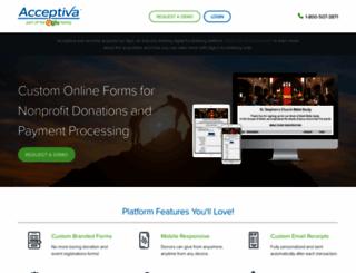 acceptiva.com screenshot
