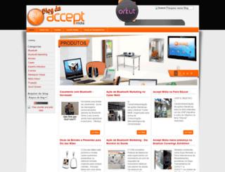 acceptmidia.blogspot.com screenshot