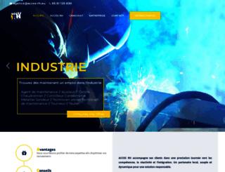 acces-rh.eu screenshot
