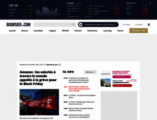 acces.boursier.com screenshot