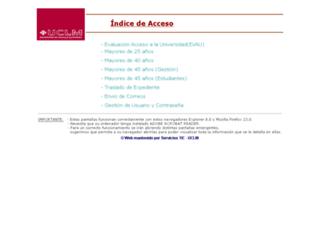 acceso.uclm.es screenshot