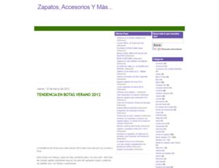 accesoriosyzapatos.blogspot.com screenshot
