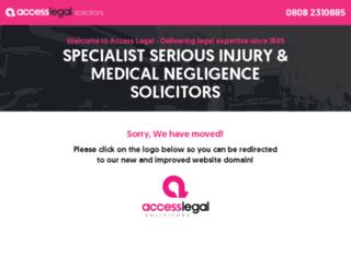 access-legal.co.uk screenshot