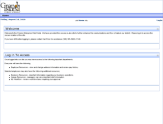 access-p.gips.org screenshot