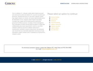 access.gibbonslaw.com screenshot