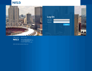 access.nisa.com screenshot