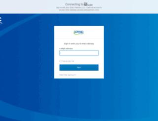 access.zotecpartners.com screenshot