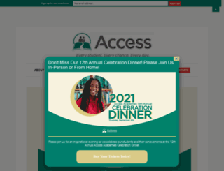 accessacademies.org screenshot