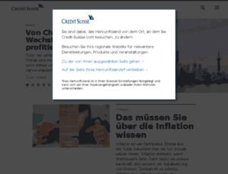 accessallareas.credit-suisse.com screenshot