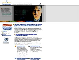 accessanywhere.net screenshot