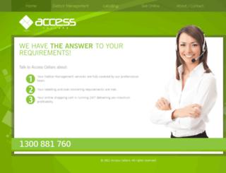 accesscellars.com.au screenshot