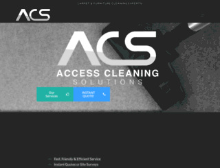 accesscleaningsolutions.co.uk screenshot