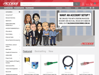 accesscomms.com.au screenshot