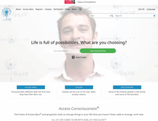 accessconsciousness.org screenshot