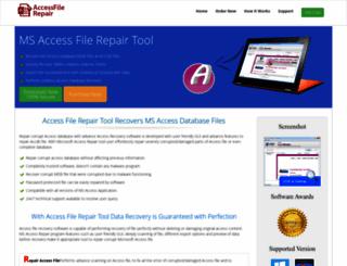 accessfilerepair.net screenshot