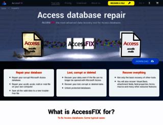 accessfix.com screenshot