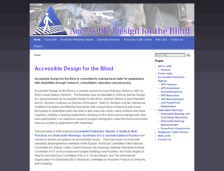accessforblind.com screenshot