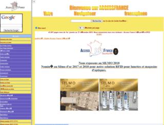 accessfrance.com screenshot