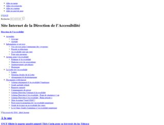 accessibilite.sncf.com screenshot