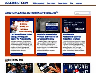 accessibility.com screenshot