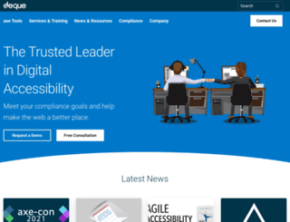 accessibility.deque.com screenshot