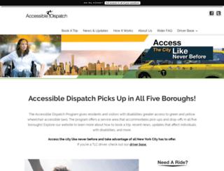 accessibledispatch.com screenshot