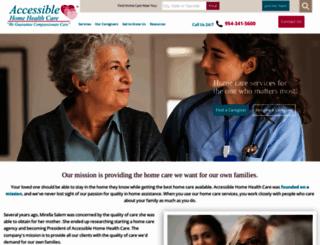 accessiblehhc.com screenshot