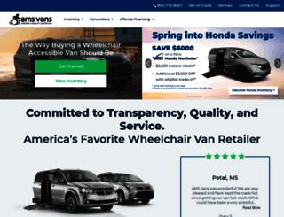 accessiblevanss.com screenshot