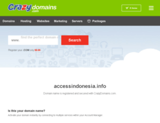 accessindonesia.info screenshot